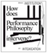 Performance Philosophy Conference Amsterdam